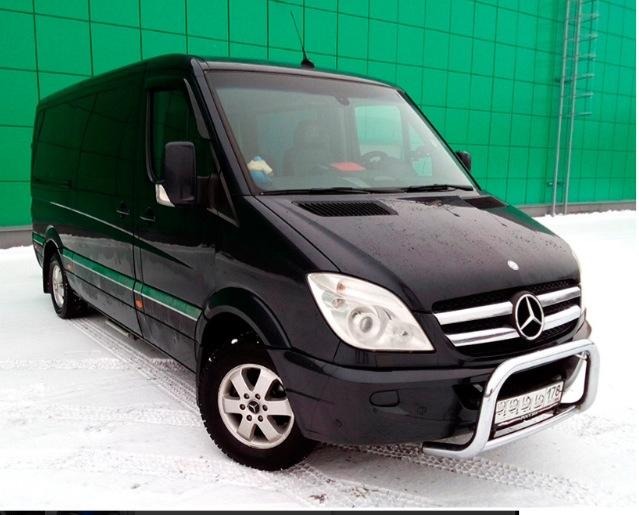 Mercedes-Benz Sprinter VIP. Вместимость 8 человек.