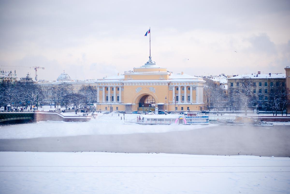 Winterliches Petersburg